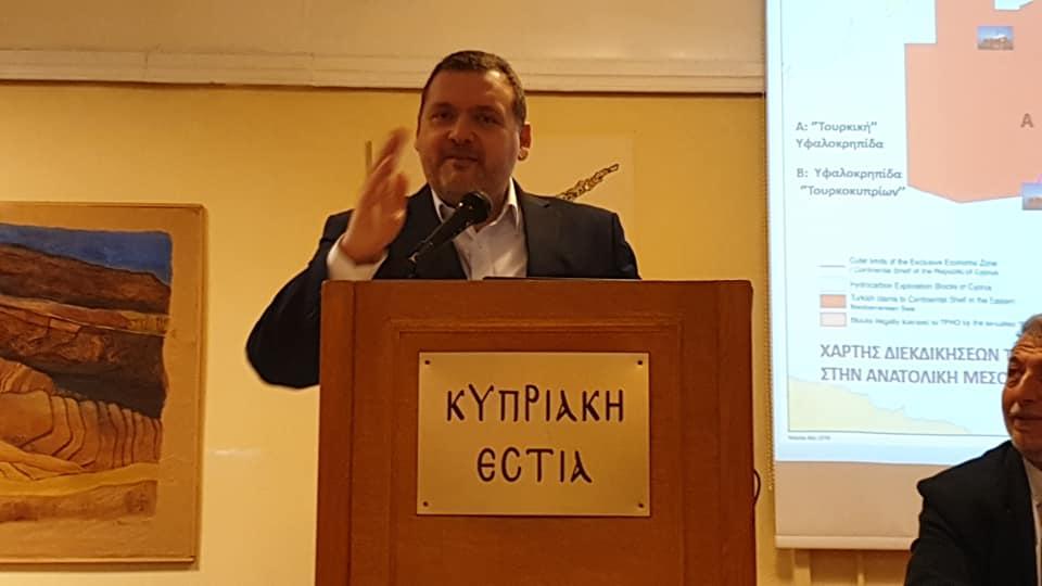 Κυριάκος Κενεβέζος, Πρέσβης της Κύπρου στην Αθήνα